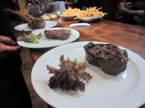 De steak